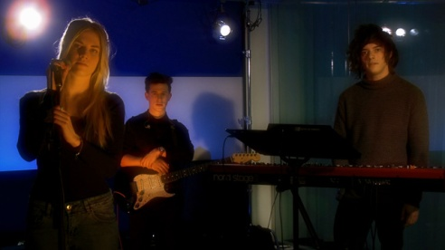 London Grammar perform at the Guardian