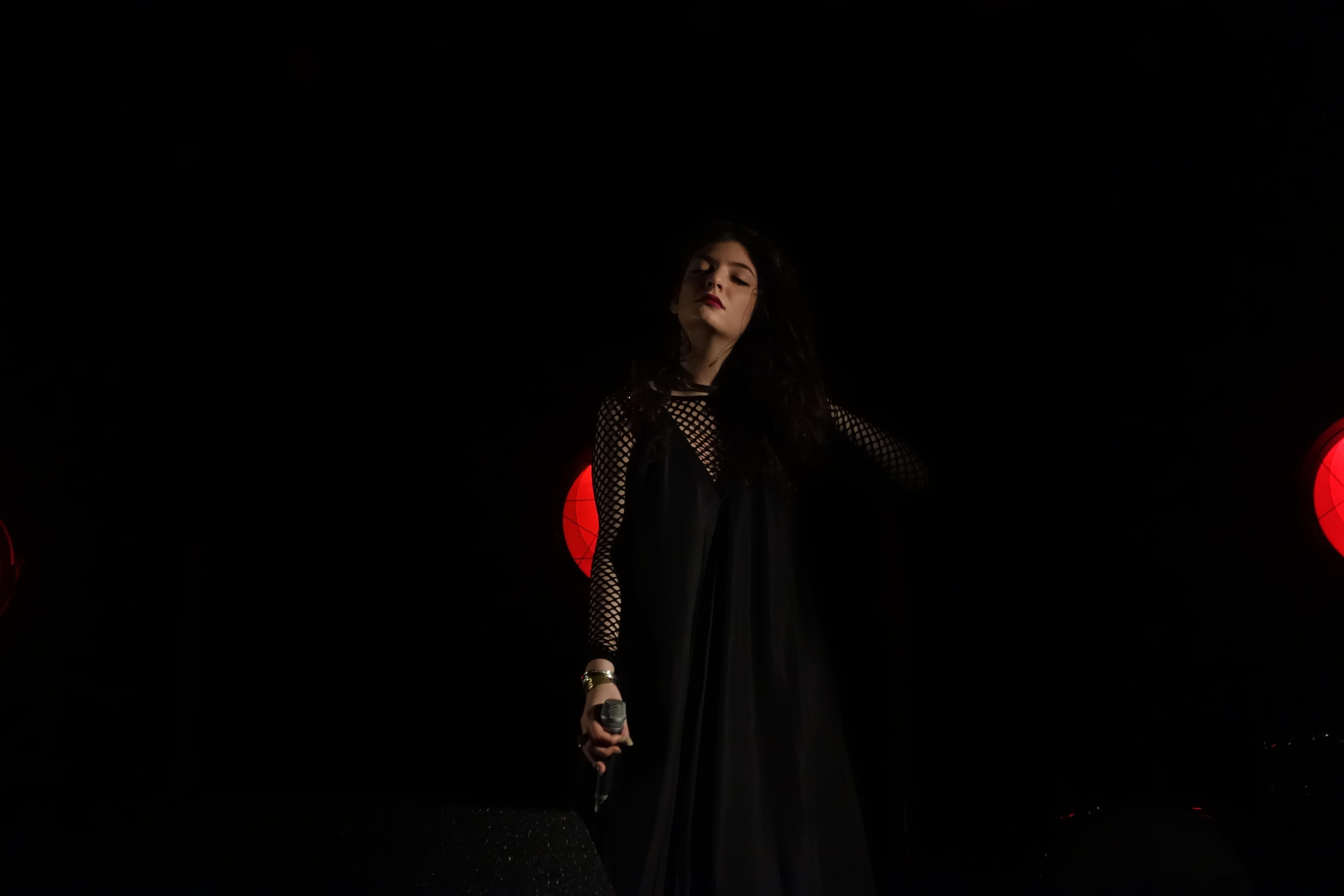 Lorde @ Fonda Theatre Photo cred Raymond Lew